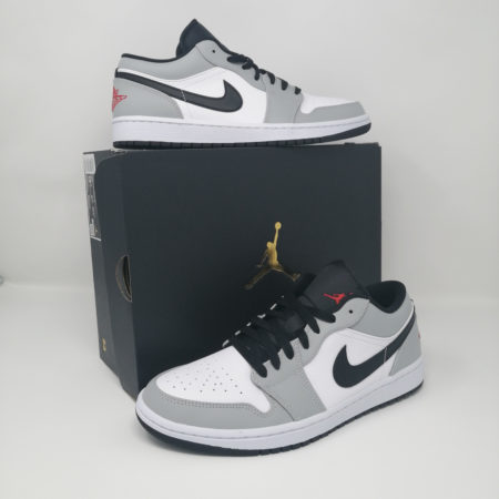 Air Jordan 1 Low Smoke Grey Package